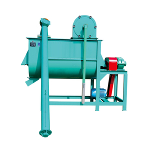 9HWP series horizontal feed mixer