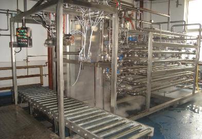 Aseptic filler&sterilizer(monoblock)