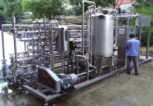 Tubular Steriler(Aseptic Or Hot Filling Style) Tube in tube sterilizer/ Pasteurizer