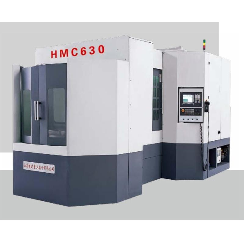 Double positions horizontal machining center HMC630